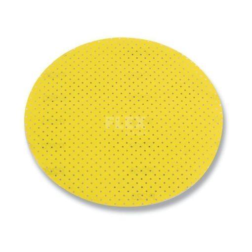 FLEX 260235 Csiszolópapír 1db D225 PF-P100 Kerek Sárga