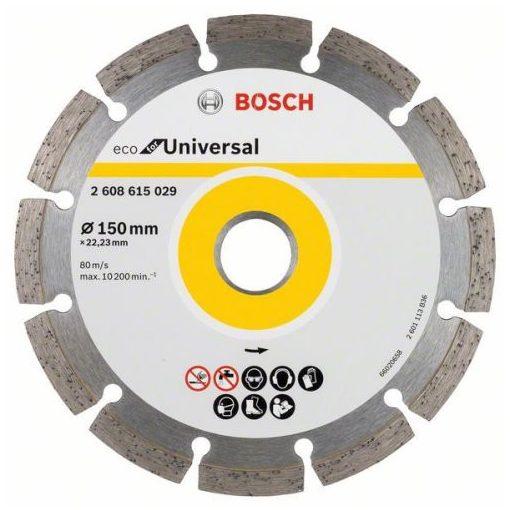 BOSCH 2608615029 Gyémánt Darabolótárcsa 150mm ECO for Universal