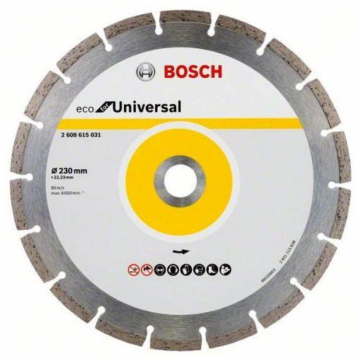 BOSCH 2608615031 Gyémánt Darabolótárcsa 230mm ECO for Universal