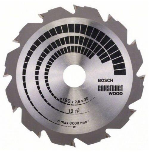 BOSCH 2608640633 Körfűrészlap CW WO H 190x30mm Z12