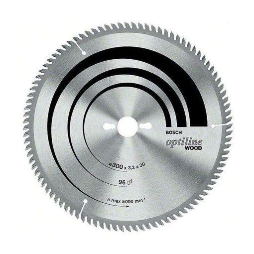 BOSCH 2608641771 Körfűrészlap 305x30mm Z72