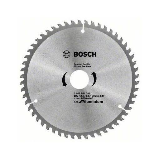 BOSCH 2608644389 Körfűrészlap 190x30mm Z54