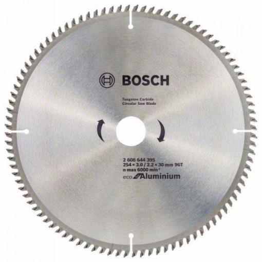 BOSCH 2608644395 Körfűrészlap EC AL B 254x30mm Z96