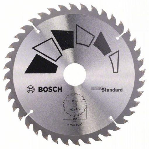 BOSCH 2609256821 Körfűrészlap GT WO H 190x30-40