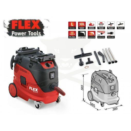 FLEX VCE 33 LAC Porszívó 30liter 1400W (465674)