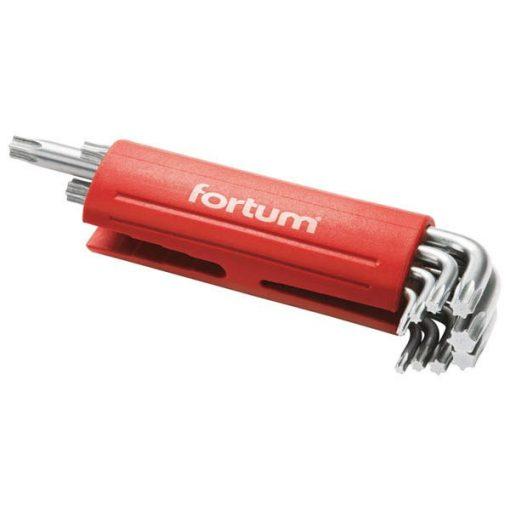 FORTUM 4710300 Torx Kulcs Készlet 9db-os T10-T50