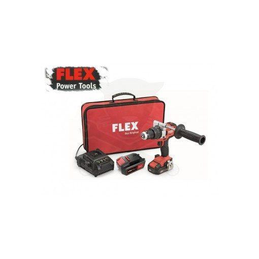 FLEX PD2G18.0-2.5Ah-5.0Ah Akkus Fúró-Ütvefúró (490202)