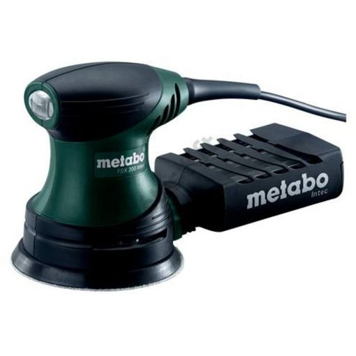 METABO FSX200Intec Excenter Csiszoló+75db tépőzáras csiszoló (609225518-HU)