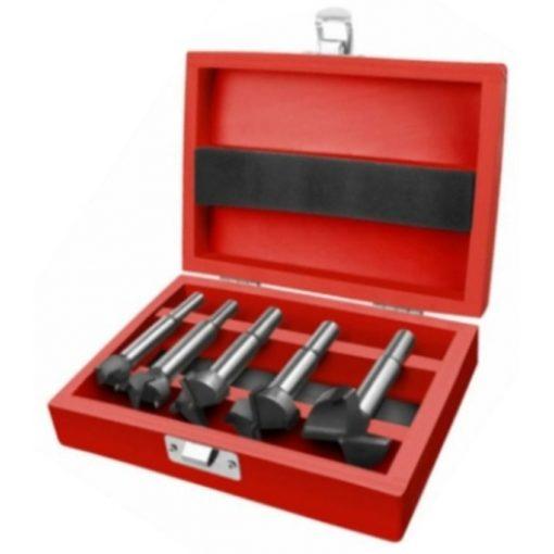 EXTOL 8802030 Pánthelymaró kpl.átm.:15-20-25-30-35mm,keményfém lapkás,b.:10mm,h.:85mm