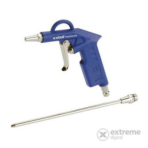 EXTOL 8865060 Lefúvató Pisztoly 21cm Fúvókával max. 8 bár 1/4