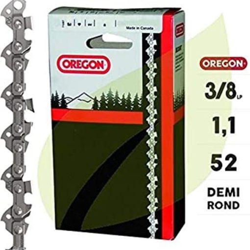 """OREGON 90PX052E Láncfűrész lánc 3/8"""" 1,1mm 52szem"""