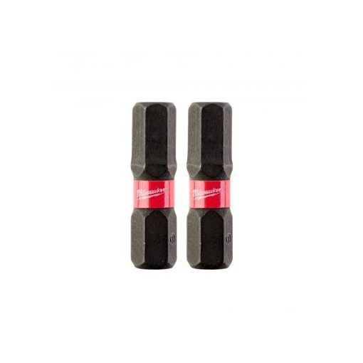 MILWAUKEE 932430897 Bit 2db Hatlap 6,0mm 25mm Shock wave