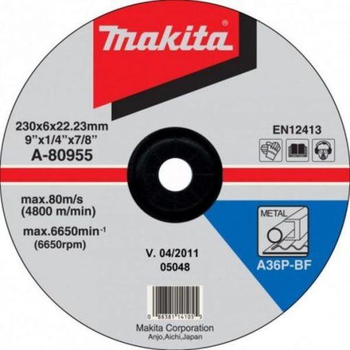 MAKITA A-80955 Csiszolótárcsa db 230mm