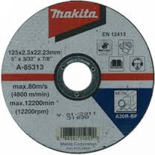 MAKITA A-85313 Vágókorong 125x22.2-2.5mm Acél