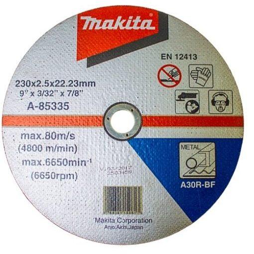 MAKITA A-85335 Vágókorong Acél 230x2,5mm