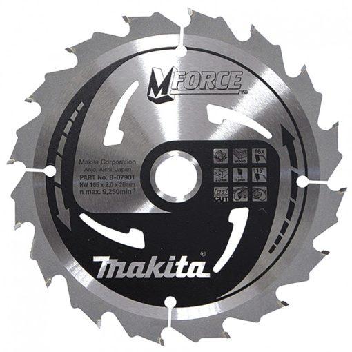 MAKITA B-07901 Körfűrészlap 165/20mm Z16  165/20mm Z16