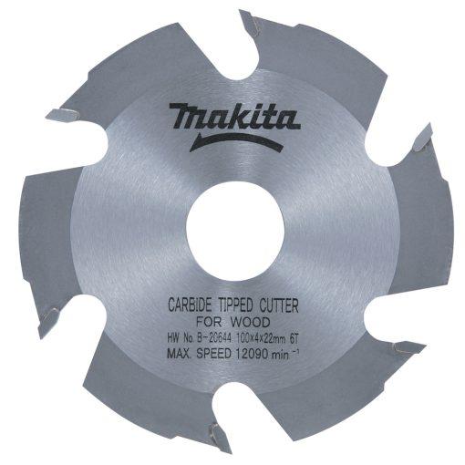 MAKITA B-20644 Lapostiplimaró körfűrészlap HM 100x22x4,0mm 6fog