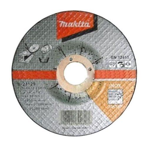 MAKITA B-21129 Csiszolótárcsa INOX 1db 125x6mm