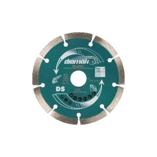 MAKITA D-61139 Gyémánttárcsa 125mm Diamak Szegmentált