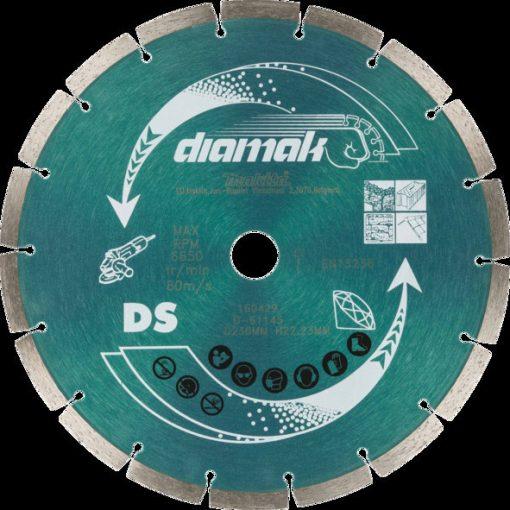 MAKITA D-61145 Gyémánttárcsa 230mm Diamak Szegmentált