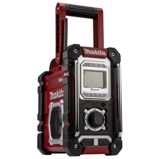 MAKITA DMR108AR Akkus Rádió 7,2V-18V LXT,CXT Li-ion Bluetooth Bordó Akku és töltő nélkül