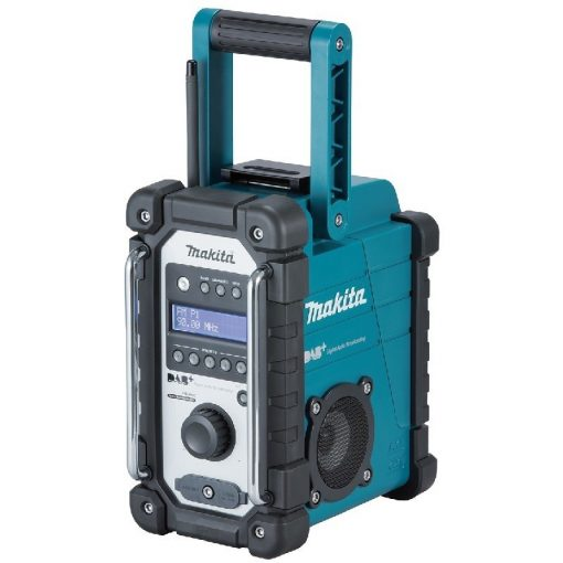 MAKITA DMR110 Akkus rádió 7,2V-18V CXT LXT Li-ion DAB/DAB+ Akku és töltő nélkül