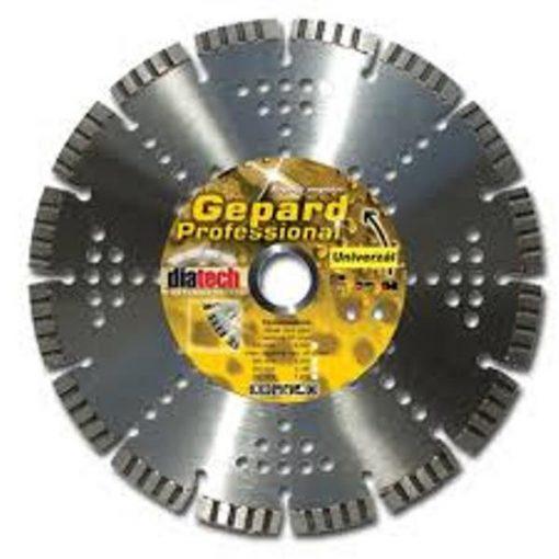 DIATECH GE125 Gyémánt Vágótárcsa 125x22.2x10mm Gepard turbó gy.uni.