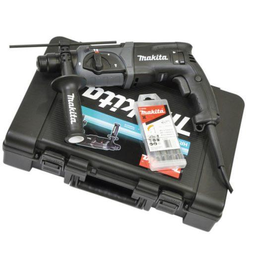 MAKITA HR2470BX40 Fúró-Vésőkalapács 780W 2,4J SDS-Plus Fekete