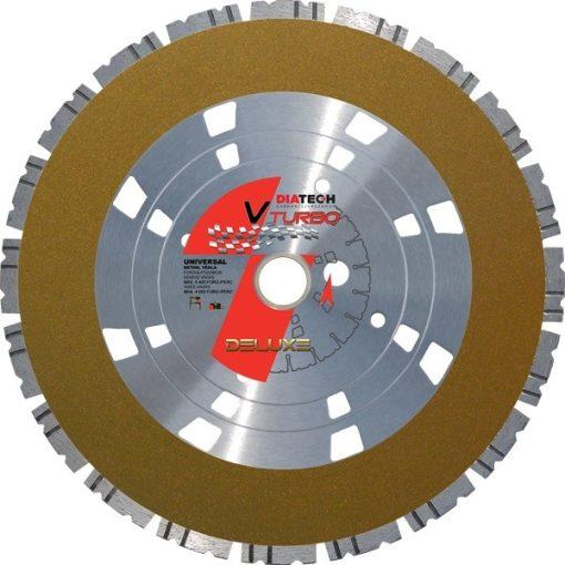 DIATECH LE-V400 Gyémánt vágótárcsa V-Turbo 400x25,4x10mm beton,uni.