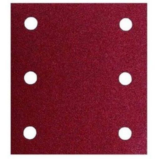 MAKITA P-33087 Csiszolópapír 1db Tépőzáras piros 114x102mm K40