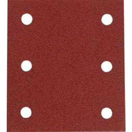 MAKITA P-33102 Csiszolópapír 1db Tépőzáras piros 114x102 K80