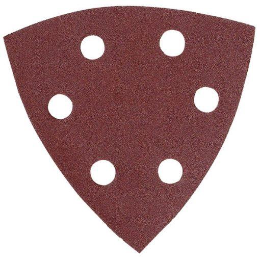 MAKITA P-33308 Csiszolópapír 1db K150 96x96mm Tépőzáras Piros
