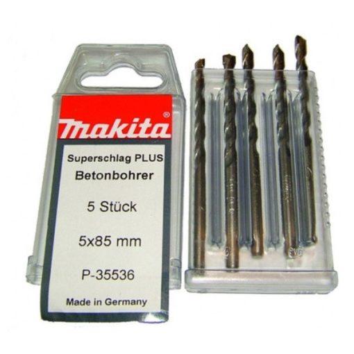 MAKITA P-35536 Kőzetfúró 2+ készlet 5db-os 5x85mm