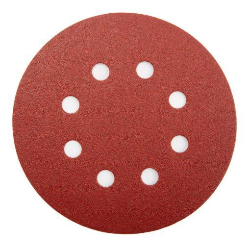 MAKITA P-43608 Tépőzáras Csiszolókorong 1db 125mm K320 piros