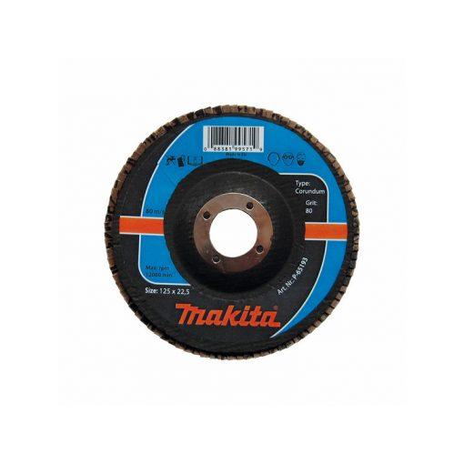 MAKITA P-65187 Csiszolókorong lamellás 125mm K60 Acél