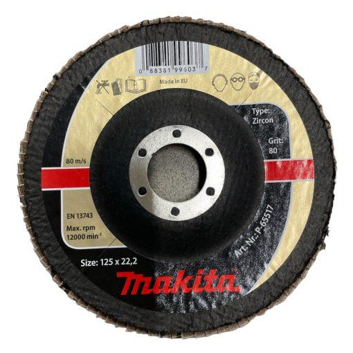 MAKITA P-65517 Lamellás Csiszoló INOX 1db 125mm K80