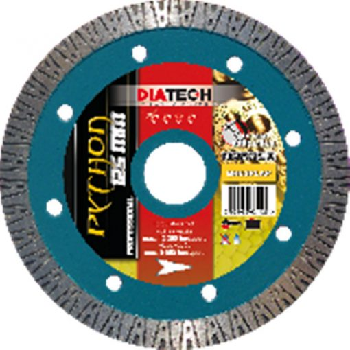 DIATECH PT115 Gyémánt Vágótárcsa Python 115x22.2x10mm