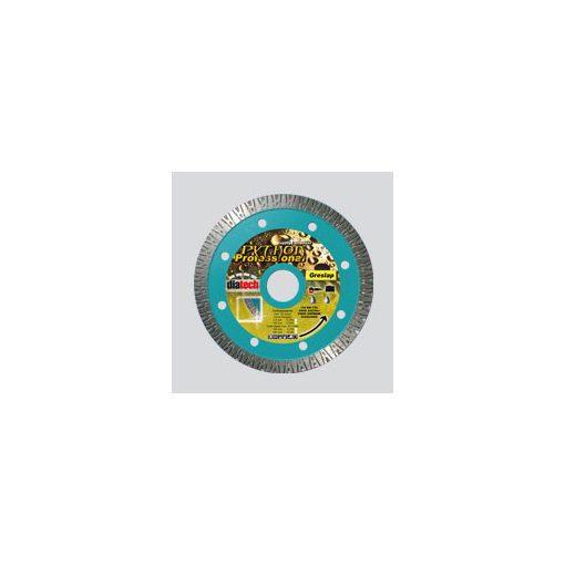 DIATECH PT125 Gyémánt Vágótárcsa Python 125x22,2x10mm