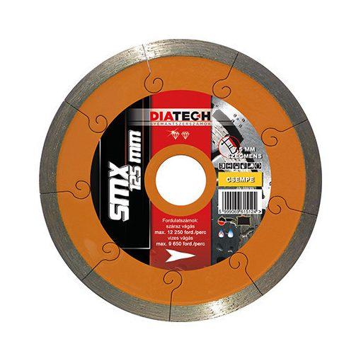 DIATECH SMX115T Gyémánt Vágótárcsa SMX Turbo 115x22,2x7,5mm