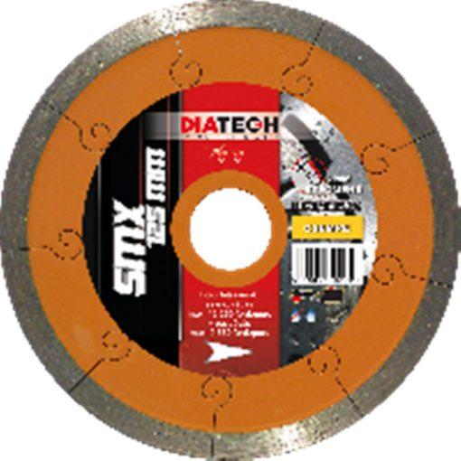 DIATECH SMX125T Gyémánt Vágótárcsa 125x22.2x7.5mm Turbó
